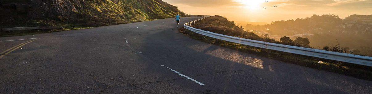man-running-highway